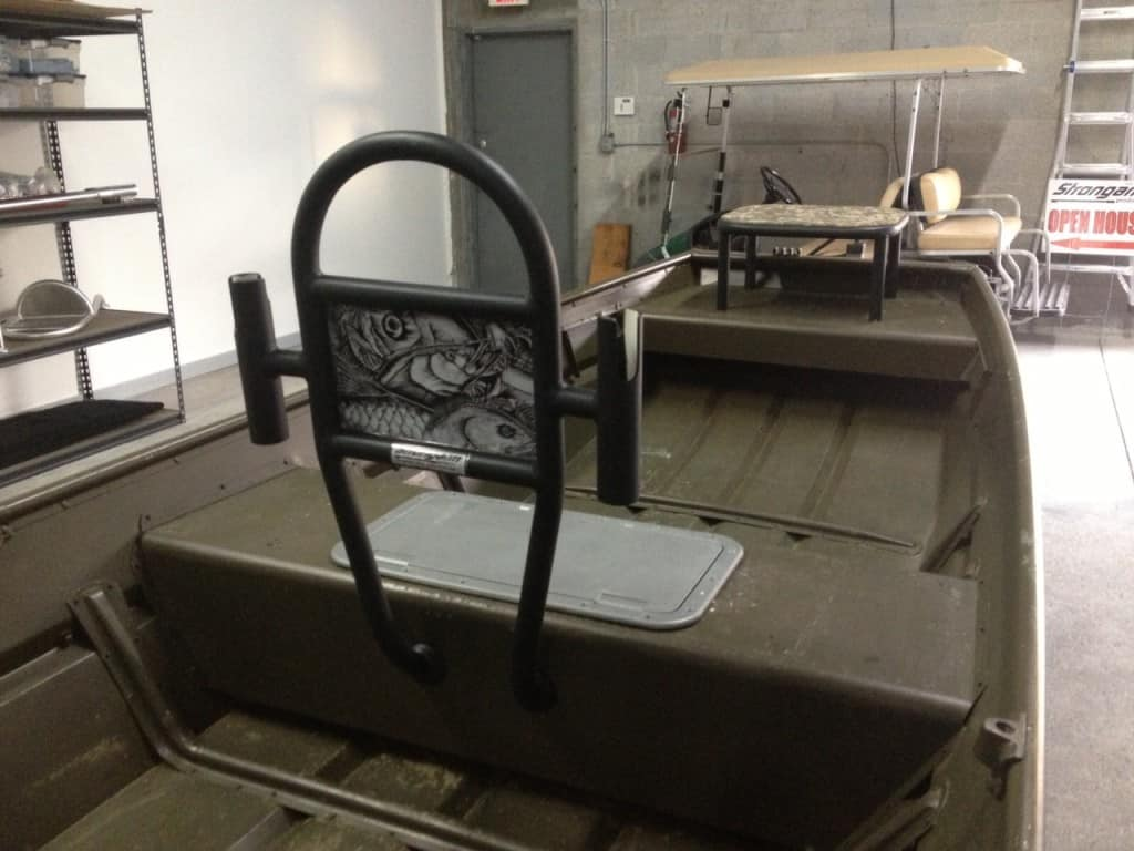 Jon Boat Grab Bars Pre Made And Diy Options Jon Boat